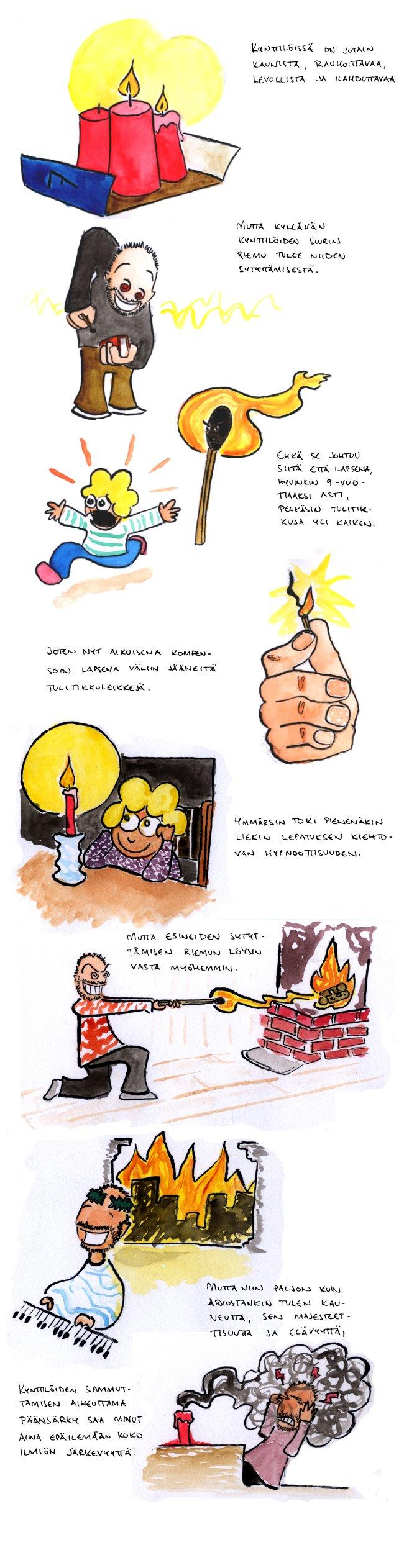Joulukalenteri – Kynttilä