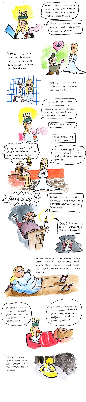Joulukalenteri – Pyhä Lucia