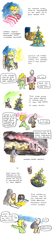 Joulukalenteri – Joulukuusi