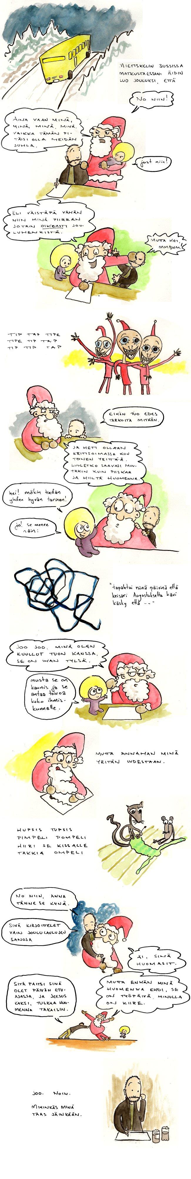 Joulukalenteri – Aaton aatto