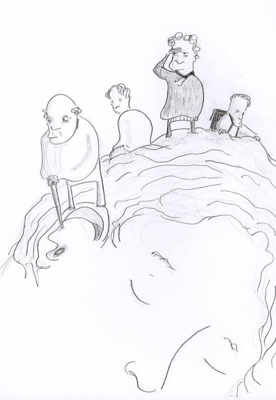 Piirros – Tutkimusmatka päähän