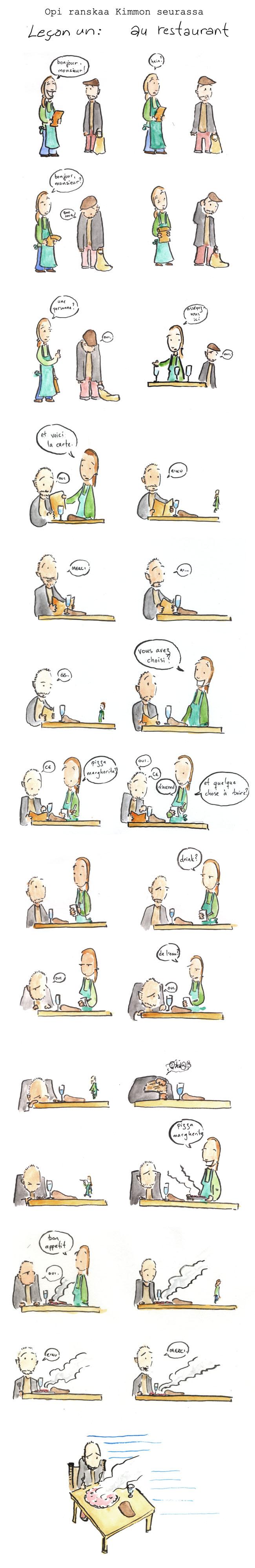 Opi ranskaa Kimmon seurassa