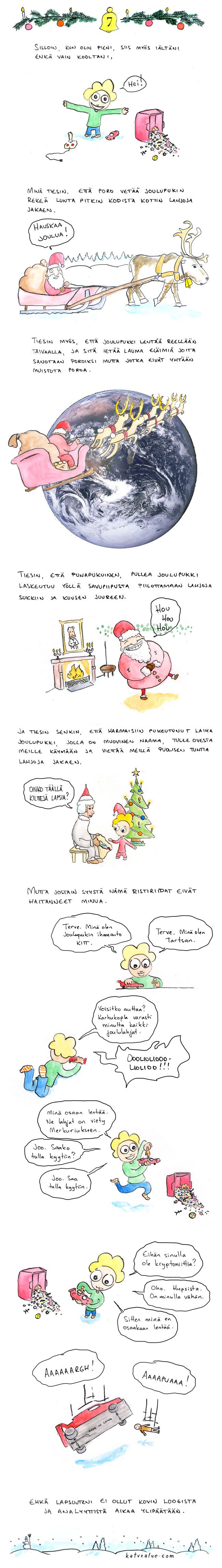 Joulu: Tartsan ja ihmeauto