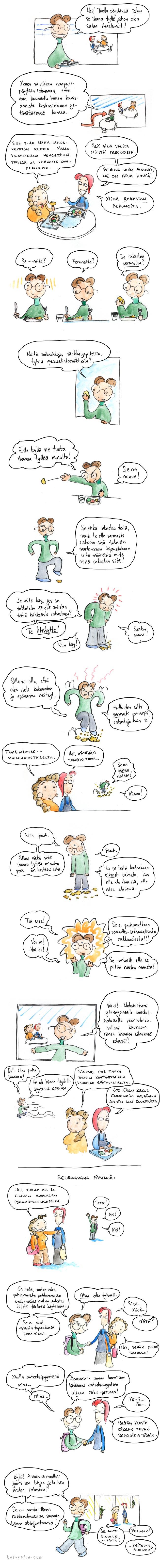 Rakkaus perunoihin