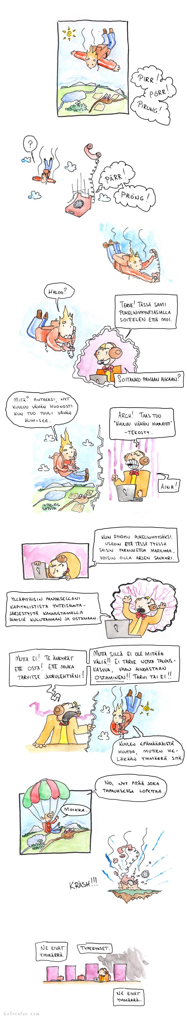 Laskuvarjopuhelu