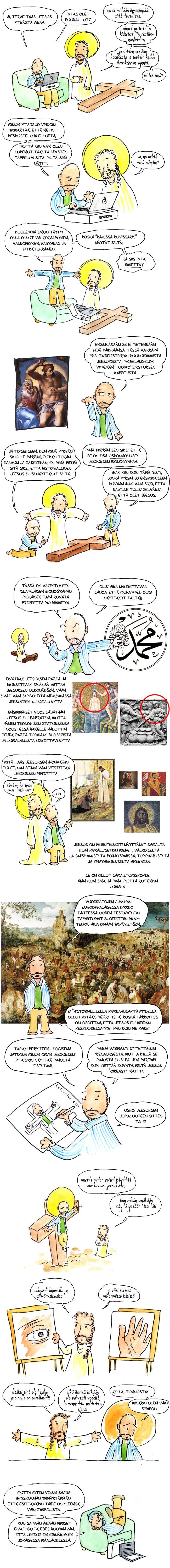 Jeesuksen ulkonäkö